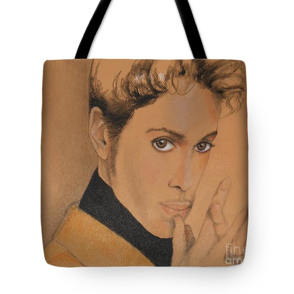 The Late Prince Rogers Nelson Tote Bag