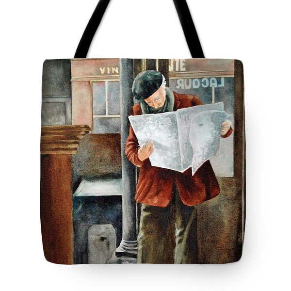 The Latest News Tote Bag