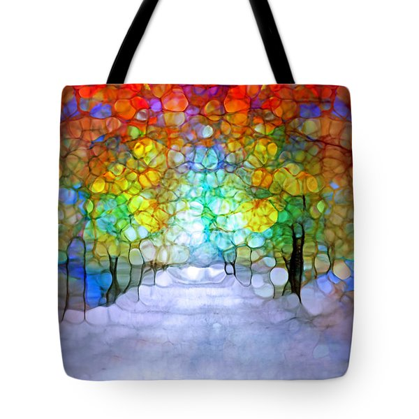 The Laughing Forest Tote Bag