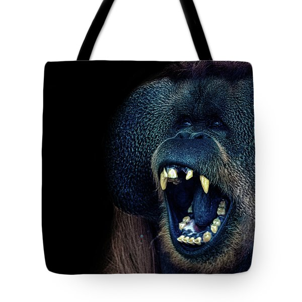 The Laughing Orangutan Tote Bag