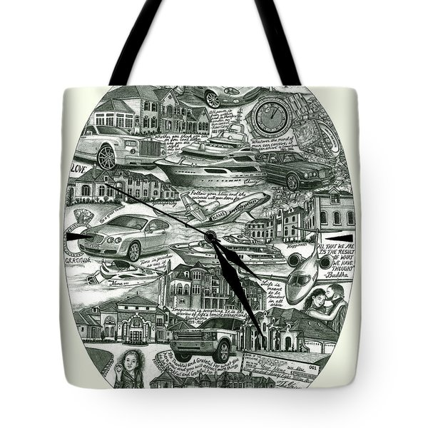The Law Of Attraction Tote Bag