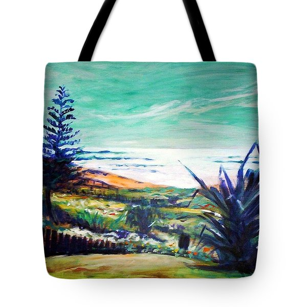 The Lawn Pandanus Tote Bag by Winsome Gunning