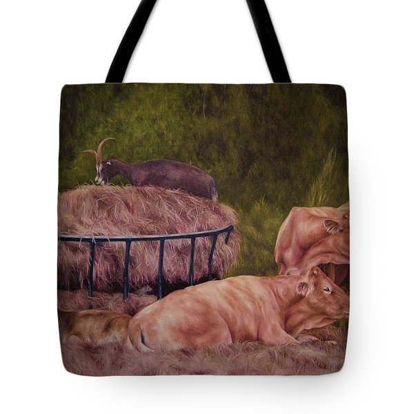 The Lazy 5 Tote Bag