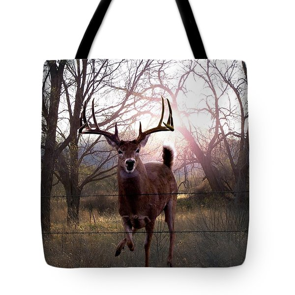 The Leap Tote Bag by Bill Stephens
