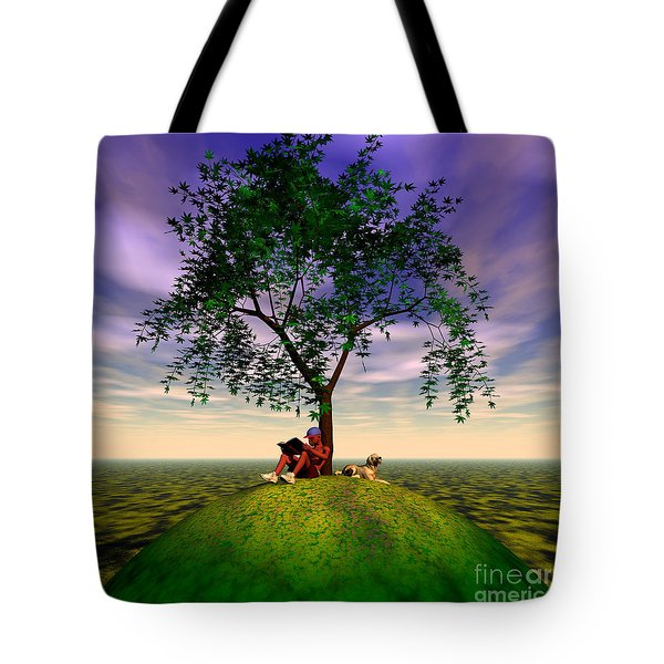 The Learning Tree Tote Bag by Walter Oliver Neal