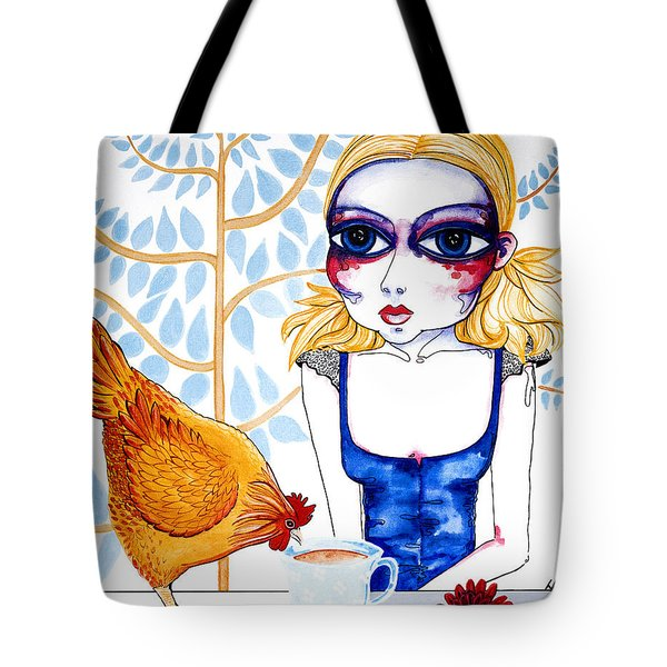 The Least I Could Do Tote Bag by Leanne Wilkes