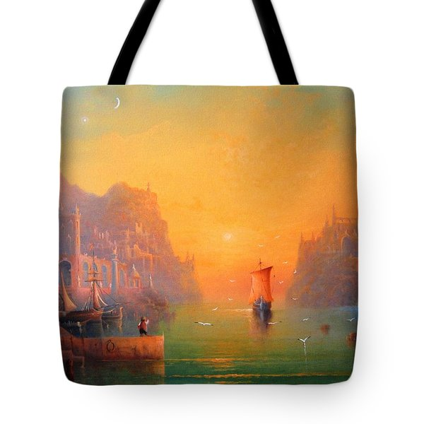 The Leaving Tote Bag
