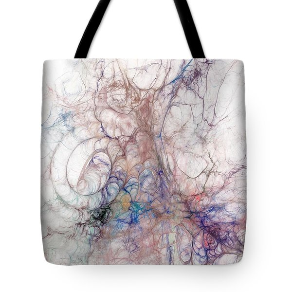 The Left Hand Of Darkness Tote Bag by David Lane
