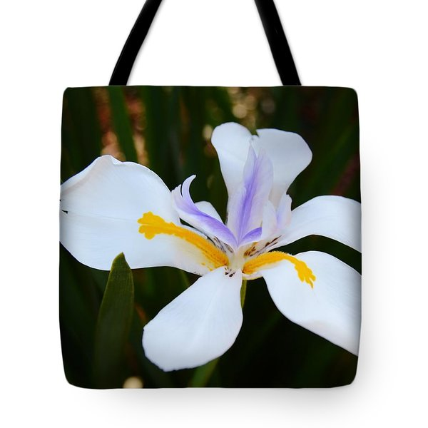 The Legacy African Iris Tote Bag