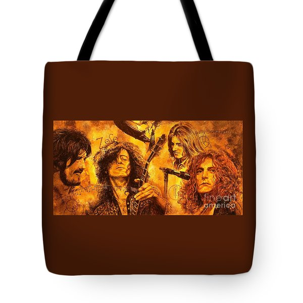The Legend Tote Bag by Igor Postash