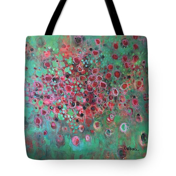 Tote Bag featuring the painting The Legend Of The Phoenix by Laurie Maves ART