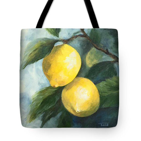The Lemon Tree Tote Bag