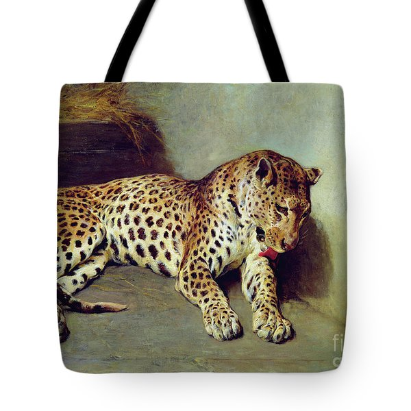 The Leopard Tote Bag by John Sargent Noble