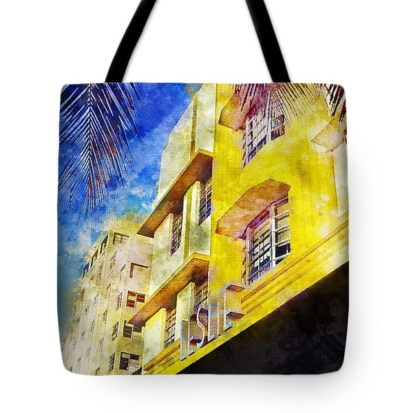 The Leslie Hotel South Beach Tote Bag