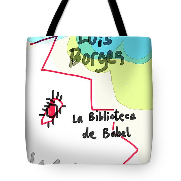The Library Of Babel  Tote Bag