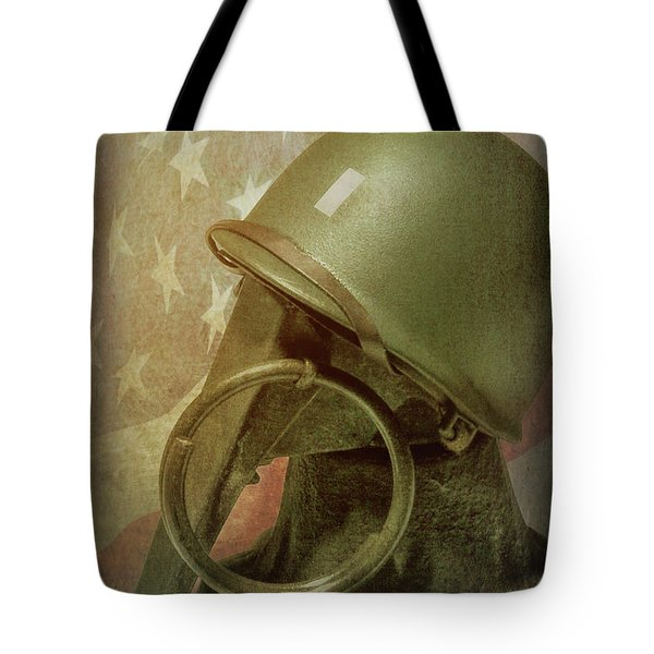 Tote Bag featuring the photograph The Lieutenant by Tom Mc Nemar