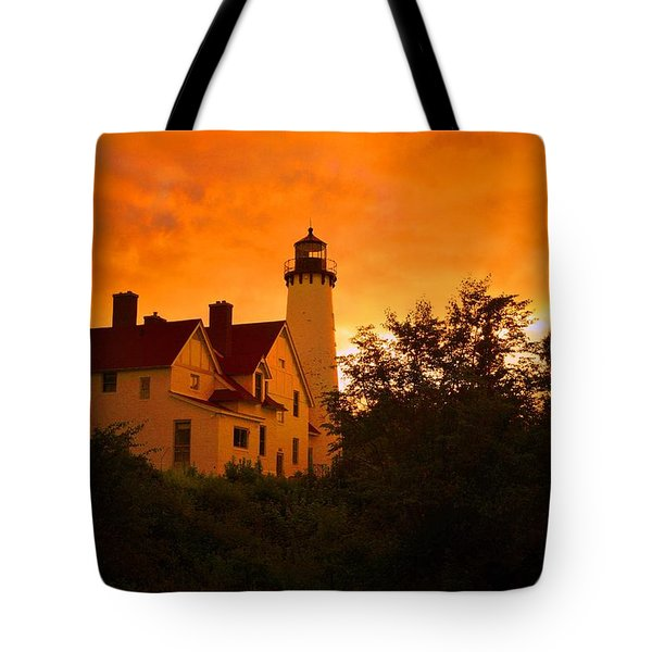 The Light At Dusk Tote Bag