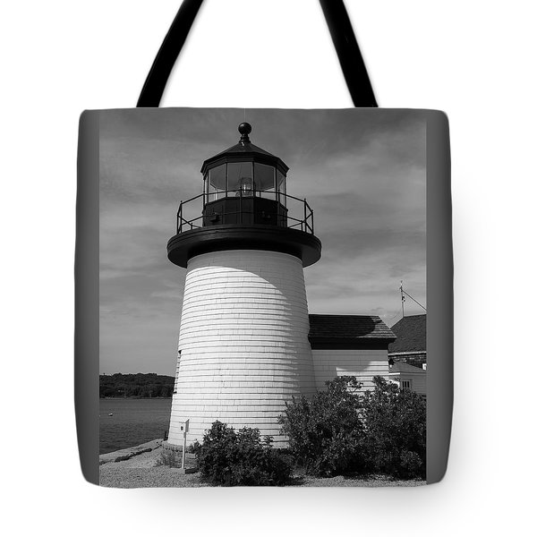 The Light At Mystic Seaport Tote Bag