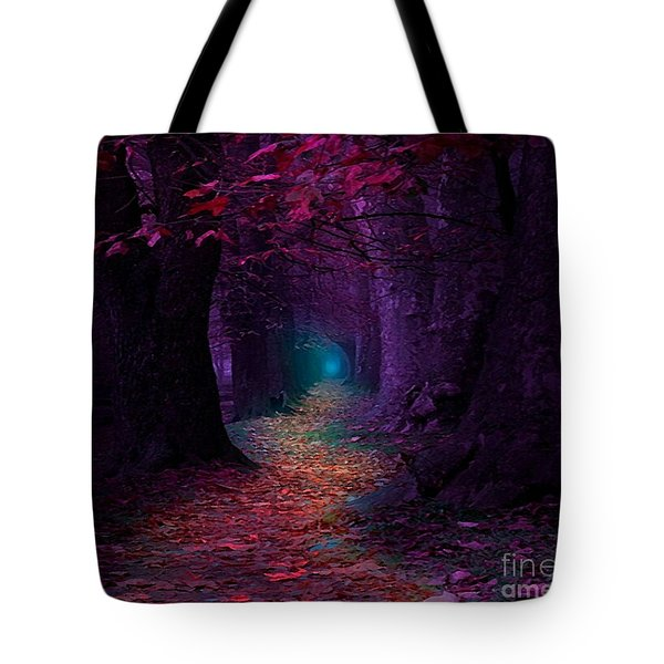 The Light At The End Tote Bag by Rod Jellison