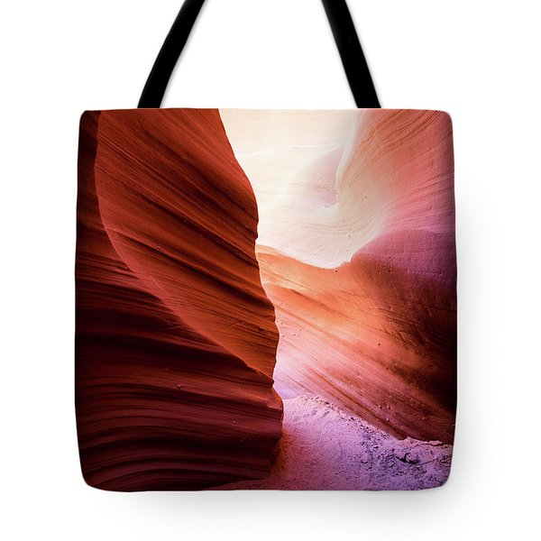 Tote Bag featuring the photograph The Light At The End by Stephen Holst