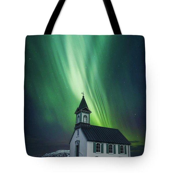 The Light Between Us Tote Bag