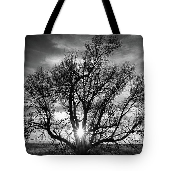 Tote Bag featuring the photograph The Light Comes Through by Monte Stevens