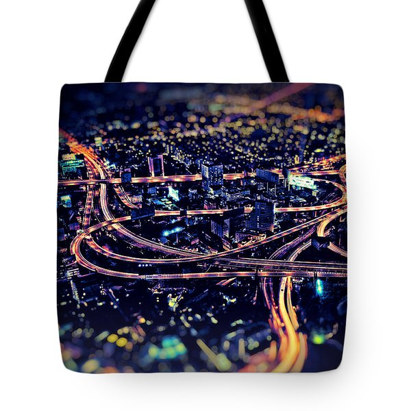 The Light Curves Tote Bag