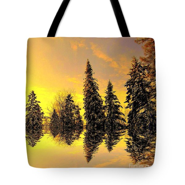 The Light Tote Bag by Elfriede Fulda