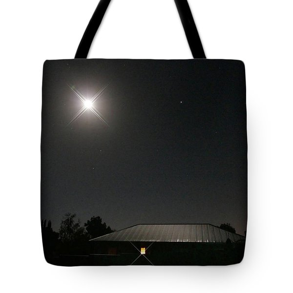 The Light Has Come Tote Bag