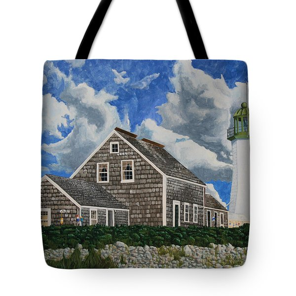 The Light Keeper's House Tote Bag