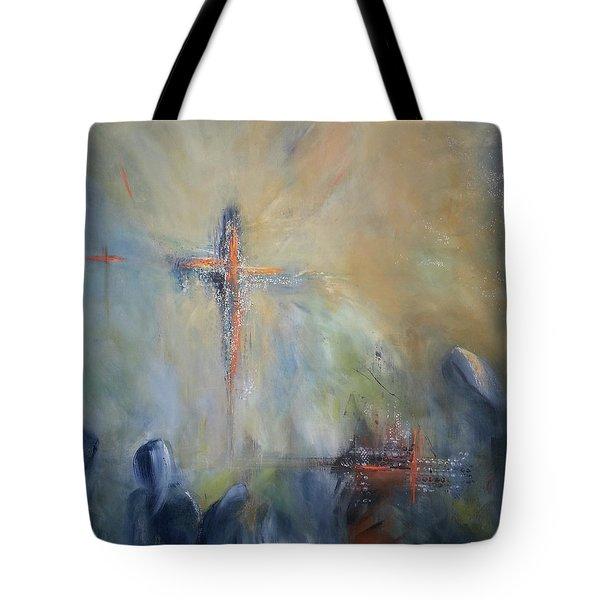 The Light Of Christ Tote Bag
