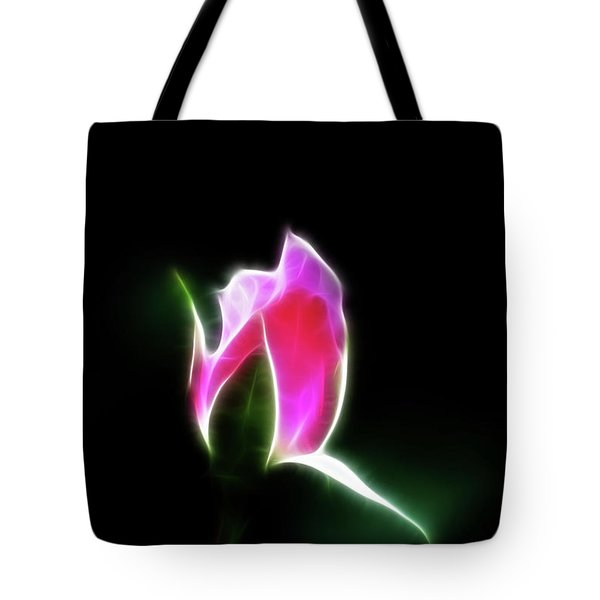 The Light Of Heaven Shining Down Tote Bag