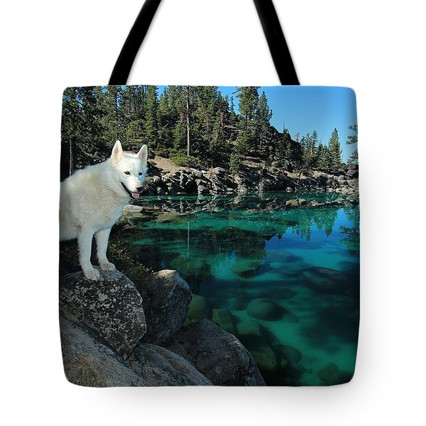 The Light Of Lake Tahoe Tote Bag