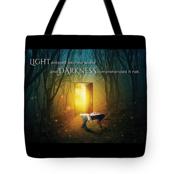 The Light Of Life Tote Bag
