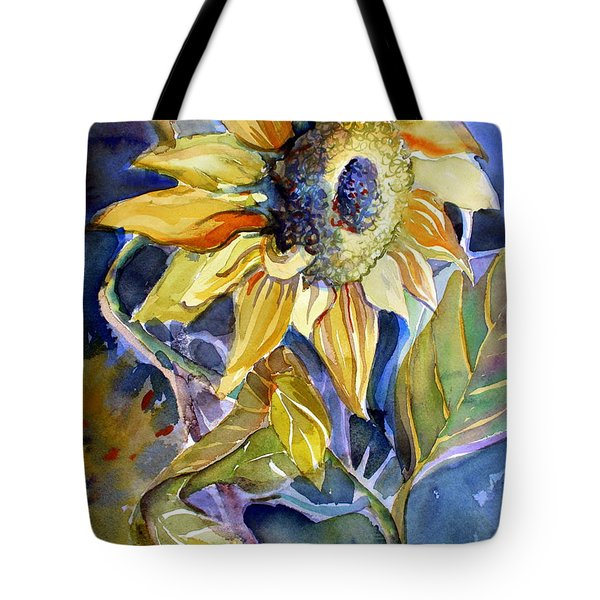 The Light Of Sunflowers Tote Bag