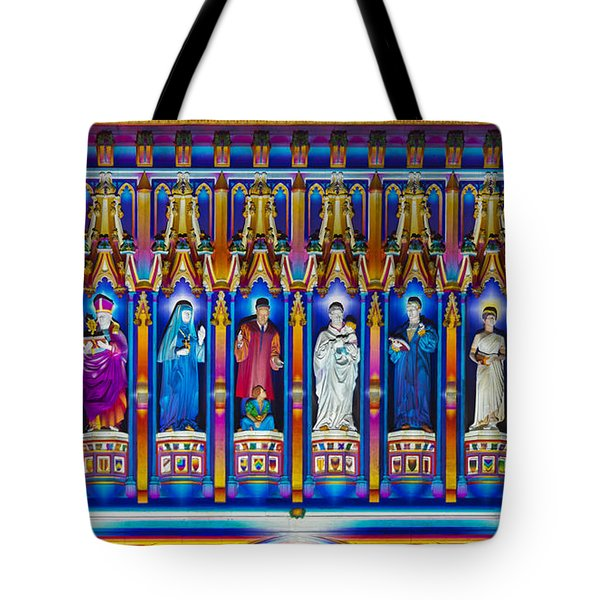 The Light Of The Spirit Westminster Abbey Tote Bag by Tim Gainey