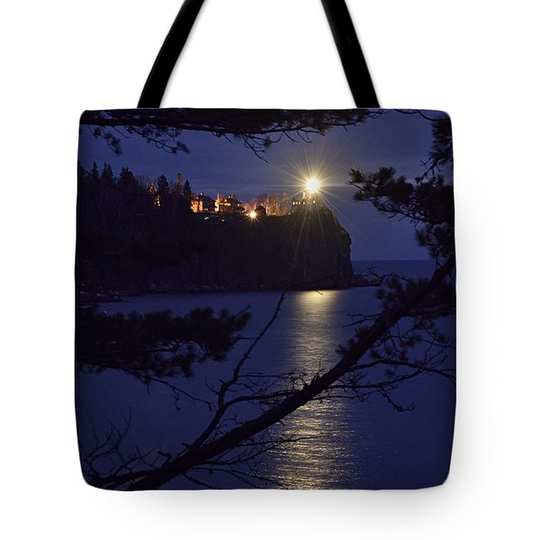 Tote Bag featuring the photograph The Light Shines Through by Larry Ricker