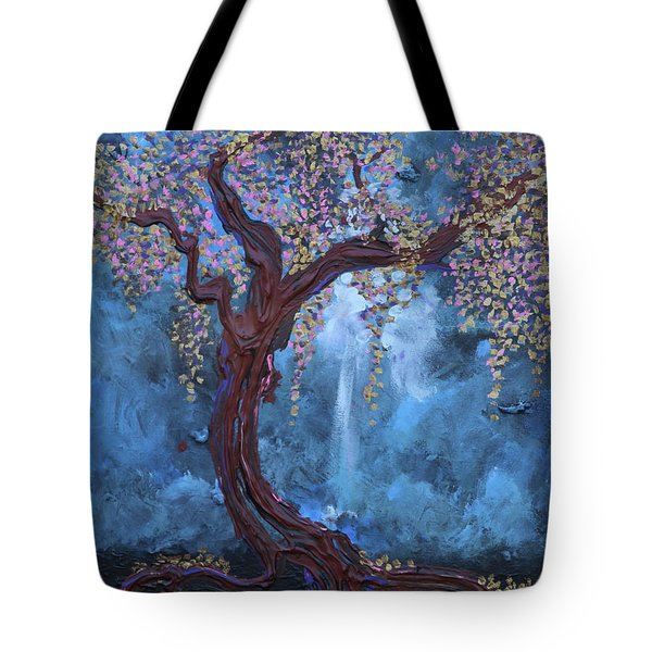 The Light Sustains Me Tote Bag