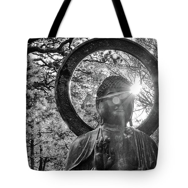 Tote Bag featuring the photograph The Light Within And Without by Lora Lee Chapman
