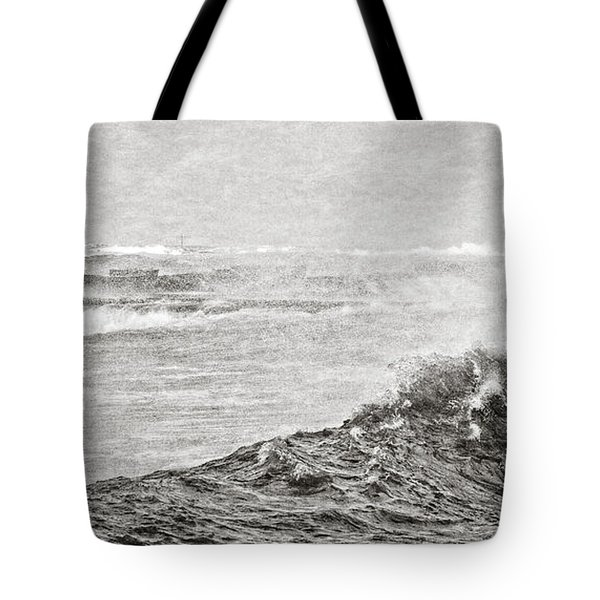 The Lighthouse Tote Bag by Everet Regal