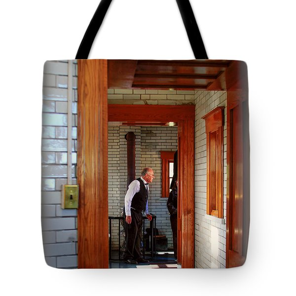 The Lighthouse Keeper Tote Bag