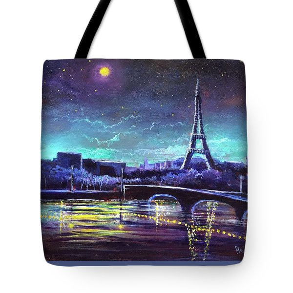 The Lights Of Paris Tote Bag