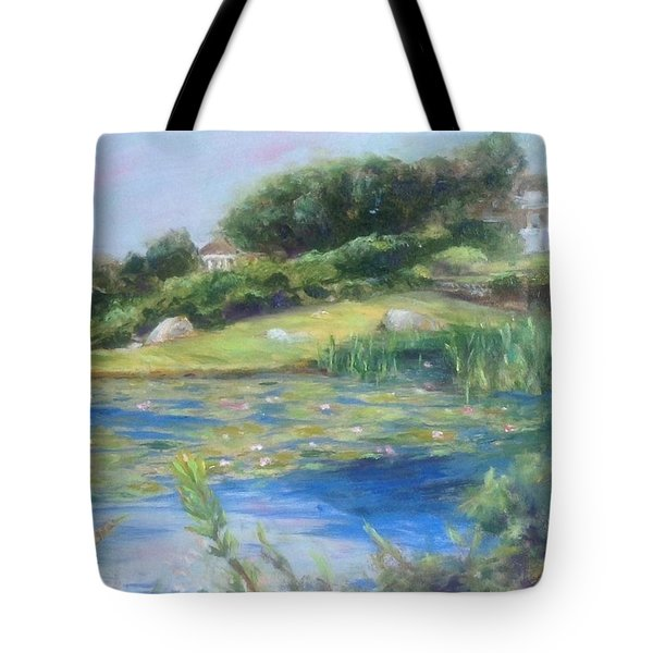 The Lily Pond Tote Bag