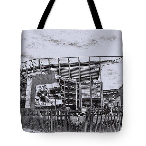 The Linc - Philadelphia Eagles Tote Bag by Bill Cannon