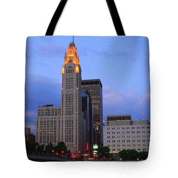 The Lincoln Leveque Tower Tote Bag