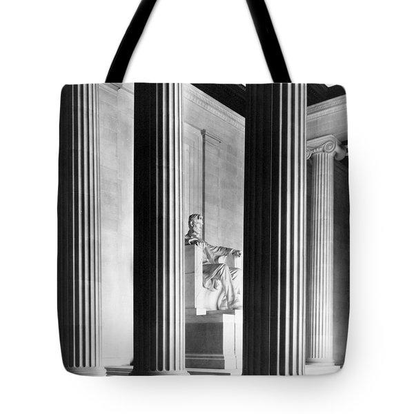 The Lincoln Memorial Tote Bag