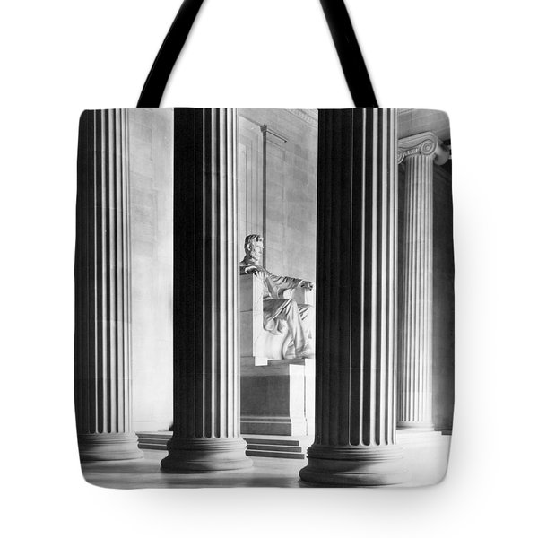 The Lincoln Memorial Tote Bag by War Is Hell Store