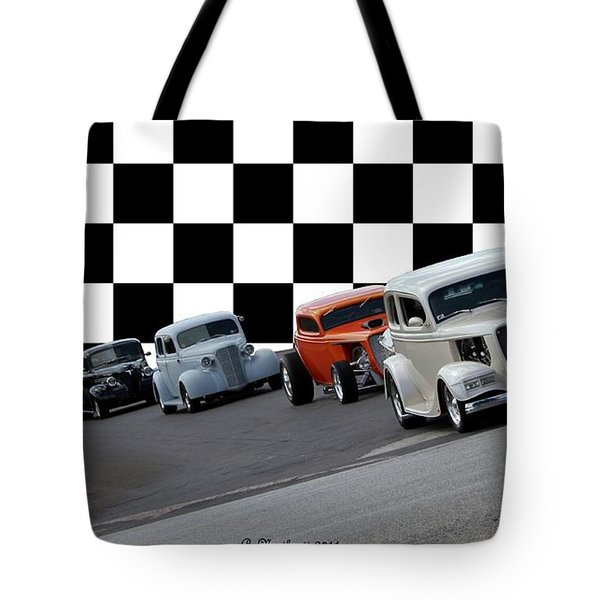 The Line-up Tote Bag by Betty Northcutt