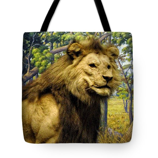 The Lion King Tote Bag by Bill Cannon