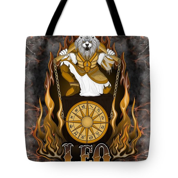 The Lion Leo Spirit Tote Bag